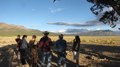 Observation location at Silver King in 2010 over 1.5 miles from the trap.
