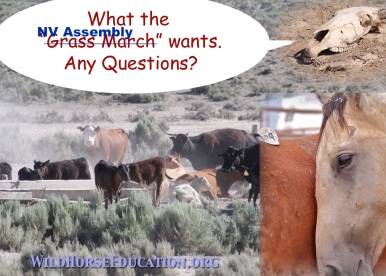 """""""Grass March,"""" Bundy Bunch or the NV State Legislature. They all sing the same song."""